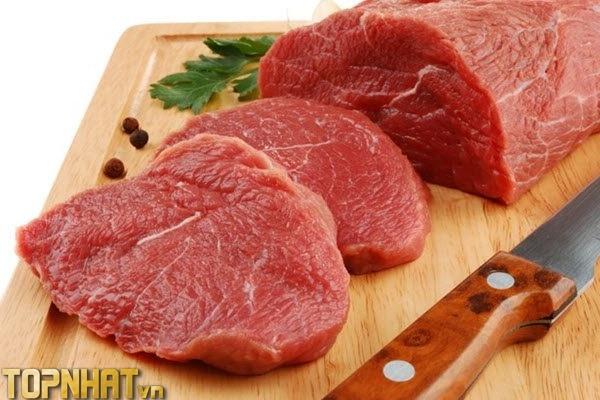 Thịt nạc giúp mẹ bầu khỏe bé thông minh