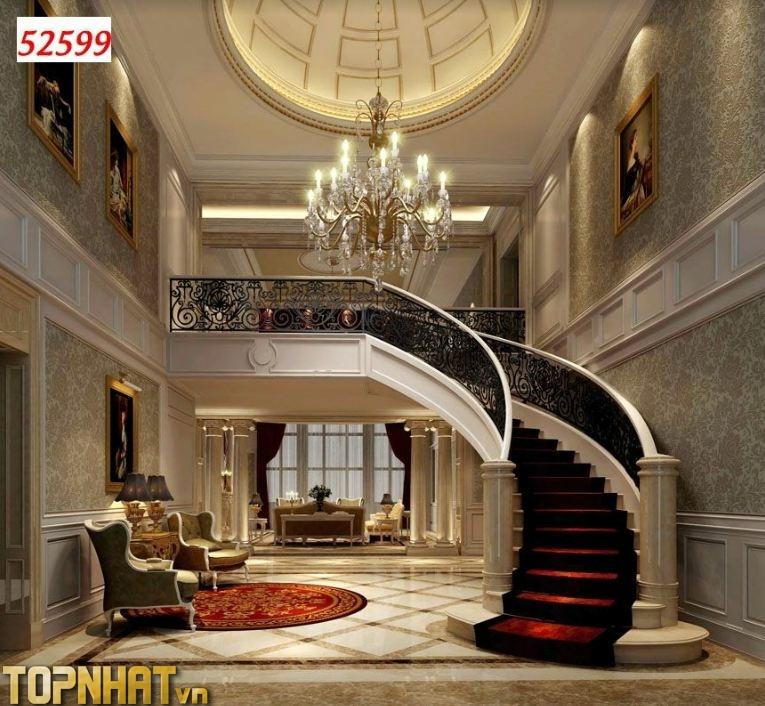 Tranh 5D mở rộng không gian phòng khách