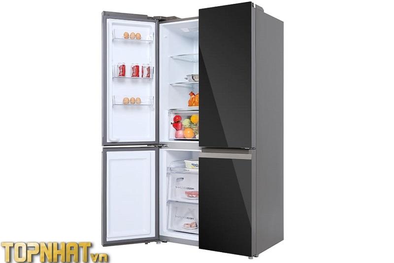 Tủ lạnh Aqua AQR-IG636FM (GB) 549 lít 4 cửa Inverter