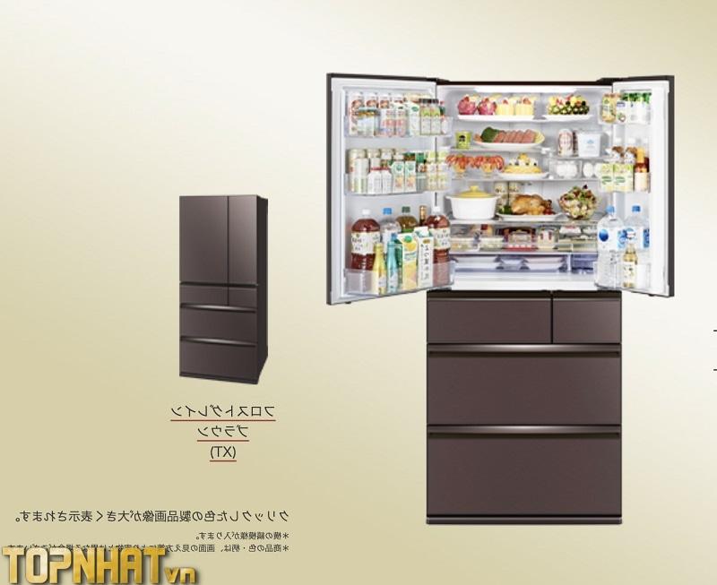 Tủ lạnh Mitsubishi kiểu Nhật 6 cửa