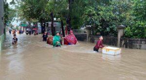 Ảnh hưởng bão số 6 gây ngập lục sạt lỡ ở nhiều tỉnh