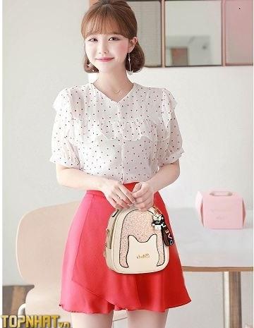Balo nữ Hàn Quốc thời trang tại Balo Home - Ảnh 1
