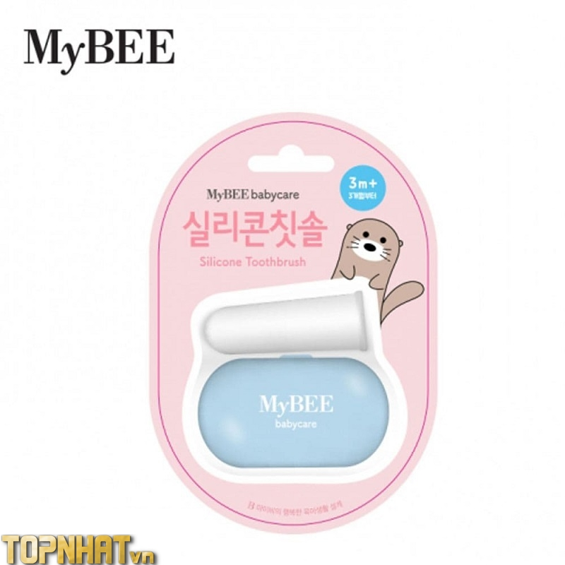 Bàn chải xỏ ngón Mybee cho trẻ từ 3 tháng trở lên