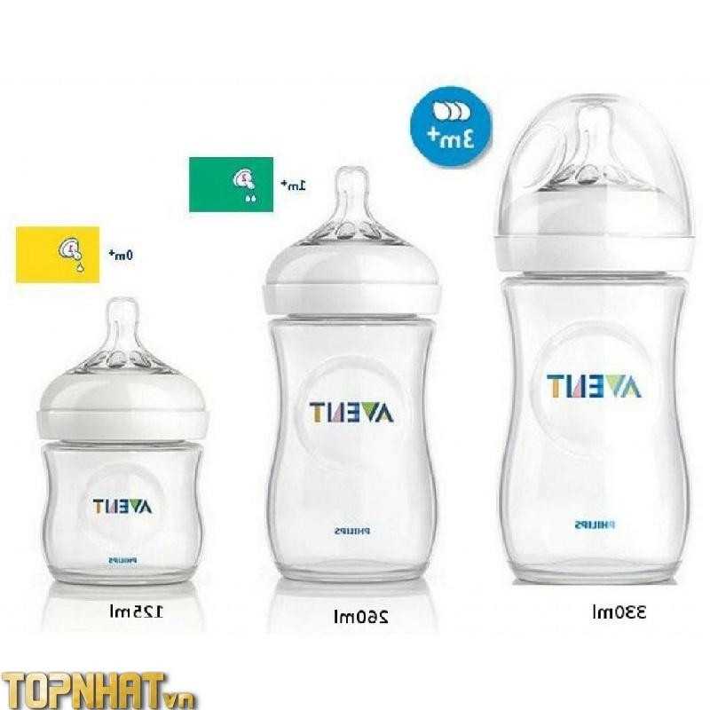 Bình sữa cho bé Philips Avent Natural
