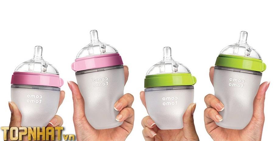 Bình sữa cho trẻ sơ sinh Comotomo Hàn Quốc