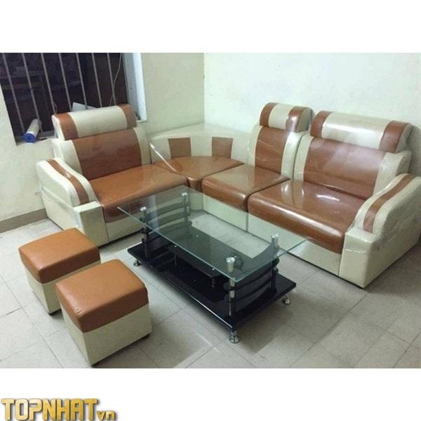 Mẫu sofa góc giá rẻ Đăng Khoa