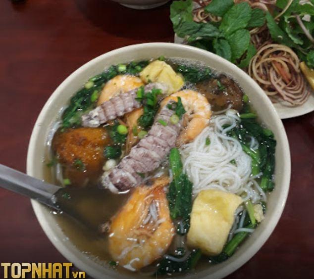 Bún hải sản Phú Đô Quán