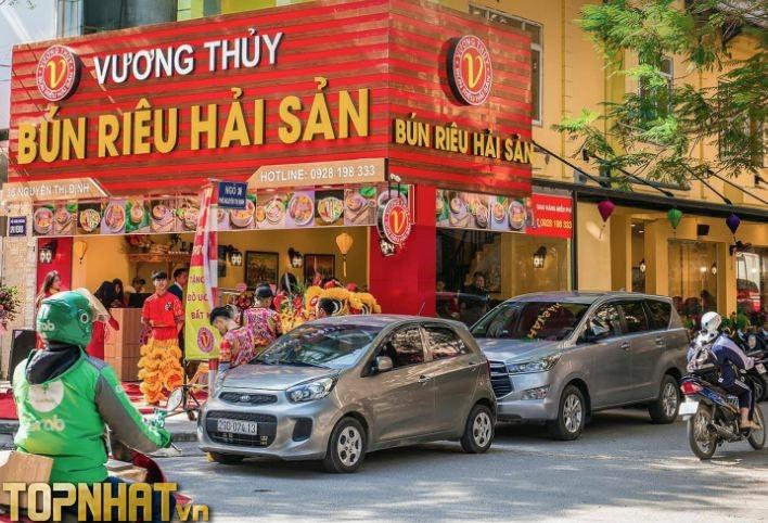 Bún riêu hải sản Vương Thủy tại Nguyễn Thị Định
