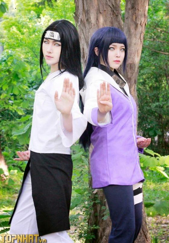 Cosplay Hinata and Neji