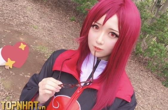 Cosplay Karin Akatsuki xinh - Ảnh 6