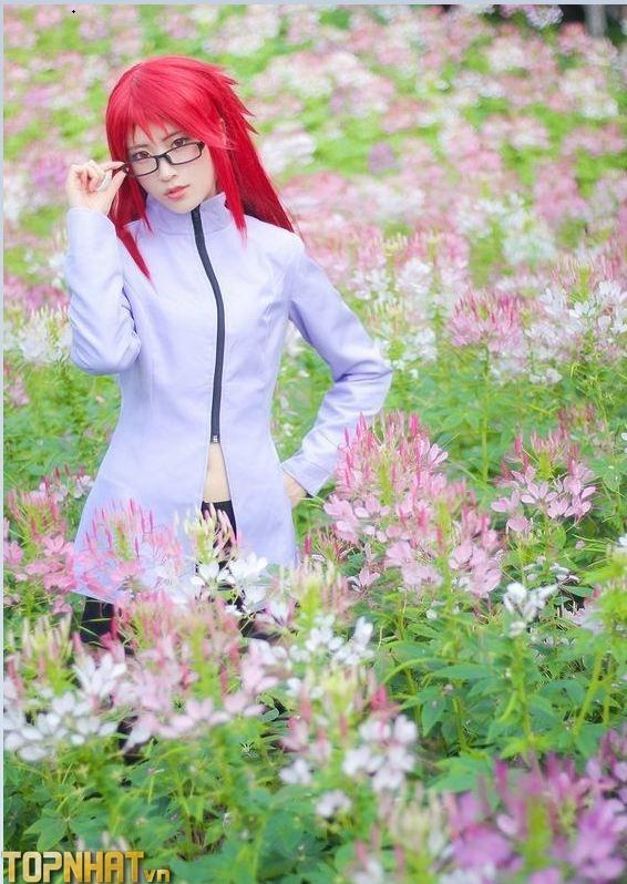 Cosplay Karin Uzumaki xinh sexy - Ảnh 5