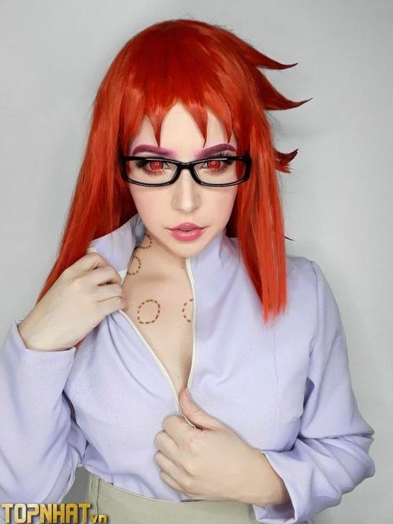 Cosplay Karin Uzumaki xinh sexy - Ảnh 6