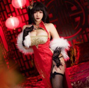 Cosplay Taihou Azur Lane cực sexy nóng bỏng - Ảnh 1