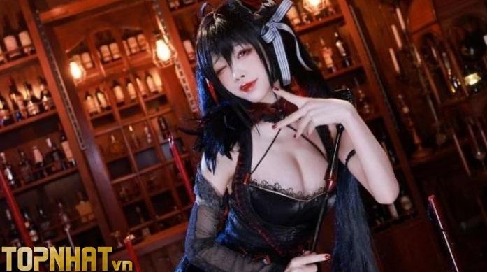 Cosplay Taihou Azur Lane cực sexy nóng bỏng - Ảnh 8