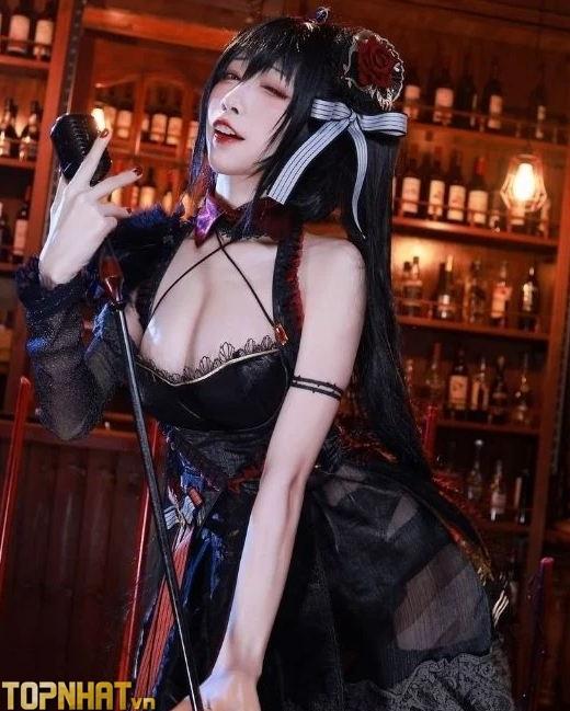 Cosplay Taihou Azur Lane cực sexy nóng bỏng - Ảnh 9