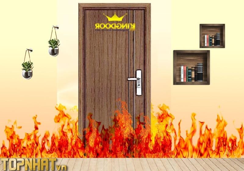 Cửa gỗ chống cháy là cửa gỗ được sản xuất nhằm đáp ứng khả năng chịu lửa khi có hỏa hoạn xảy ra