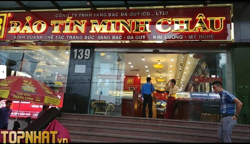Cửa hàng vàng Bảo Tín Minh Châu Cầu Giấy