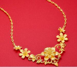 Dây hoa vàng ta của Bảo Tín Minh Châu