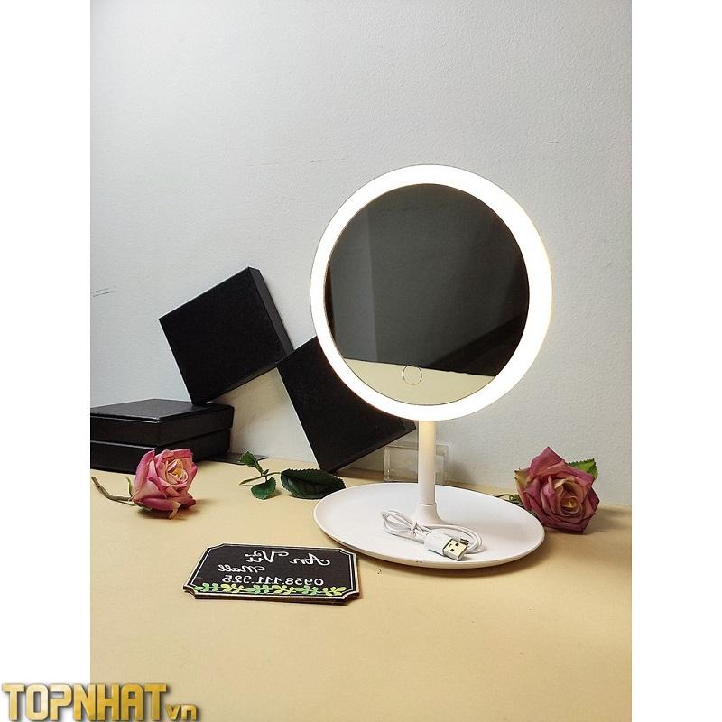 Gương cảm ứng không cần pin 3 chế độ ánh sáng