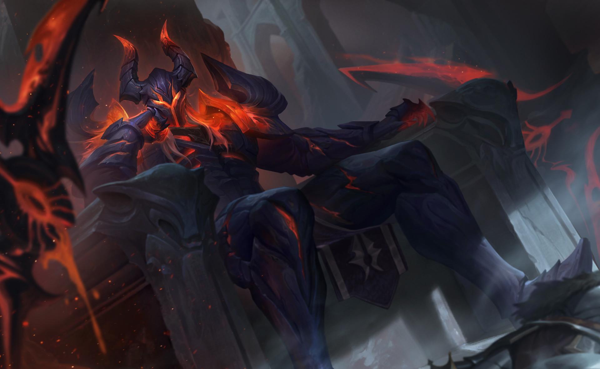 Hình nền Nakroth Chiến Binh Hỏa Ngục ảnh nét 4K - Ảnh 1