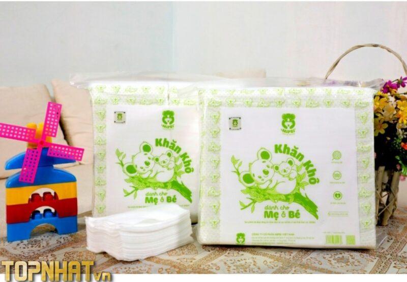 Khăn vải khô đa năng cao cấp Mipbi