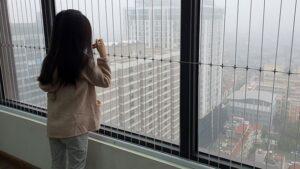 Khuyến cáo nên lắp lưới an toàn cho chung cư