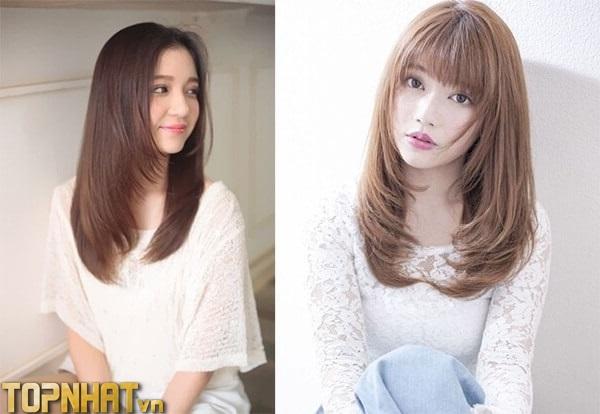 Kiểu tóc layer kiểu Nhật