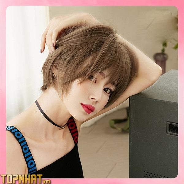 Kiểu tóc layer tomboy