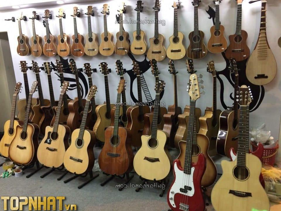 Mua đàn Guitar tại Trung Tâm Âm Nhạc Guitar Hà Nội