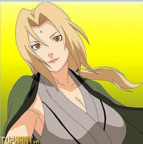 Nhân vật Tsunade trong Naruto với vẻ đẹp kiều diễm, vòng 1 khủng
