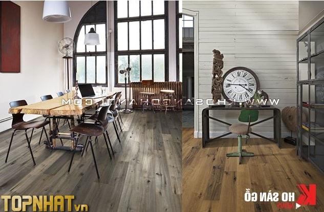 Sàn gỗ của kho Kiến Kim