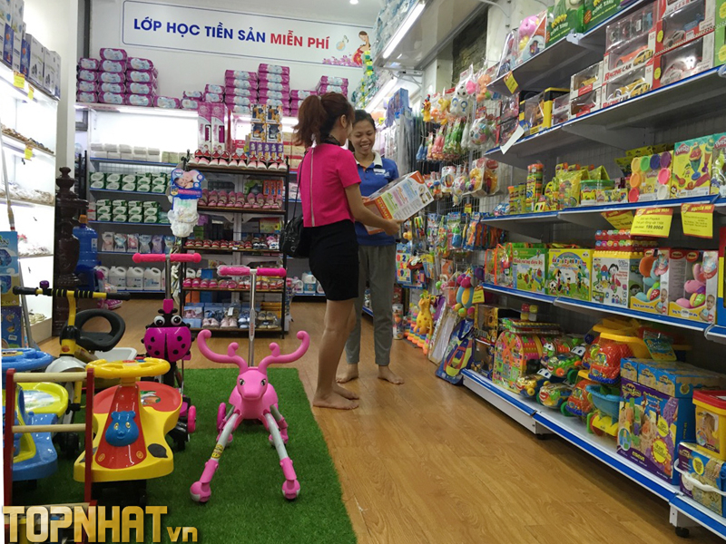 Shop Trẻ Thơ với hệ thống 35 cửa hàng