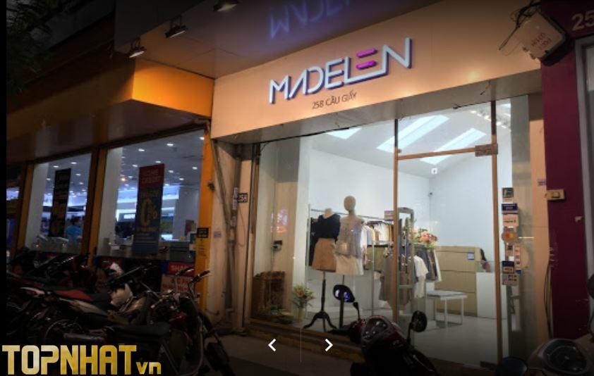 Shop quần áo Madelen - 258 Cầu Giấy buổi đêm