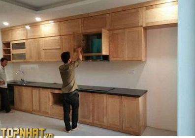 Sửa chữa tủ bếp gỗ Phú Nam