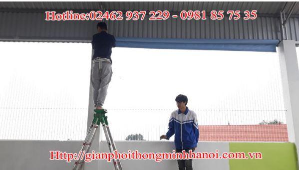 Thi công lưới an toàn của công ty TNHH DV-TM Việt Anh - Ảnh 2