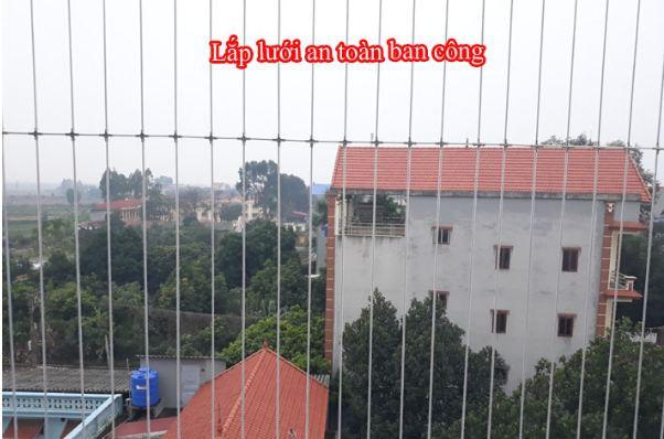 Thi công lưới an toàn của công ty TNHH DV-TM Việt Anh - Ảnh 3