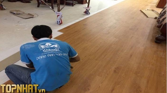 Thi công sàn gỗ của Siêu thị sàn gỗ giá rẻ