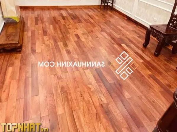 Thi công sàn gỗ tại Sàn Xinh