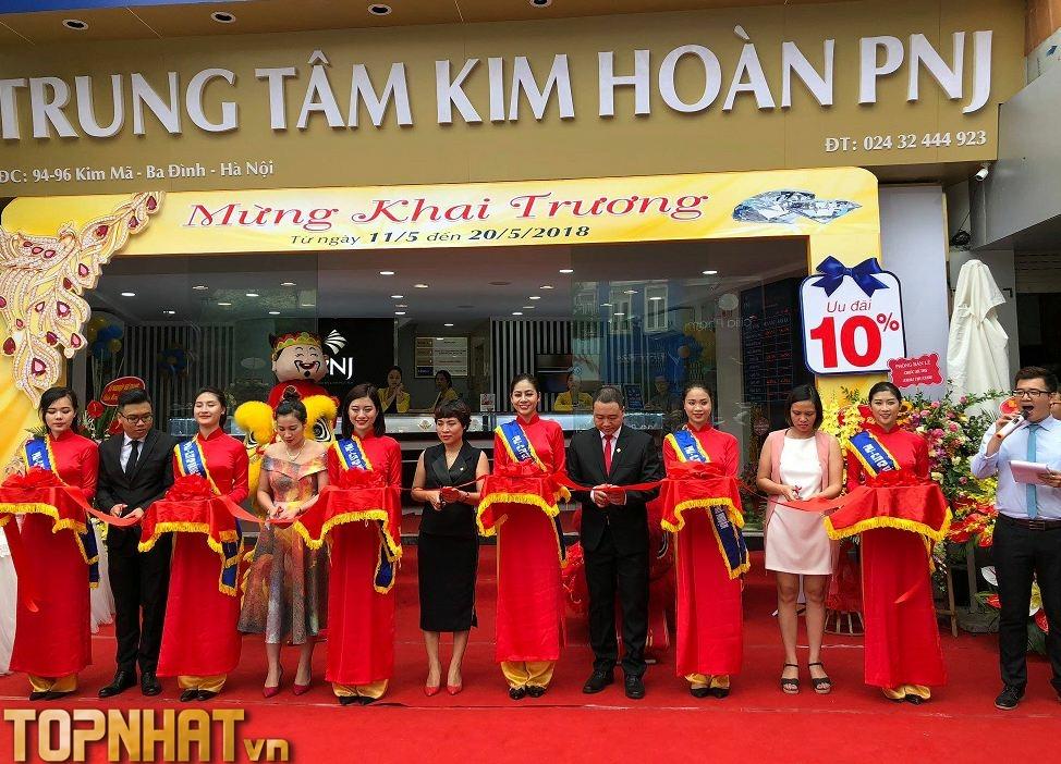 Trung tâm kim hoàn PNJ Hà Nội