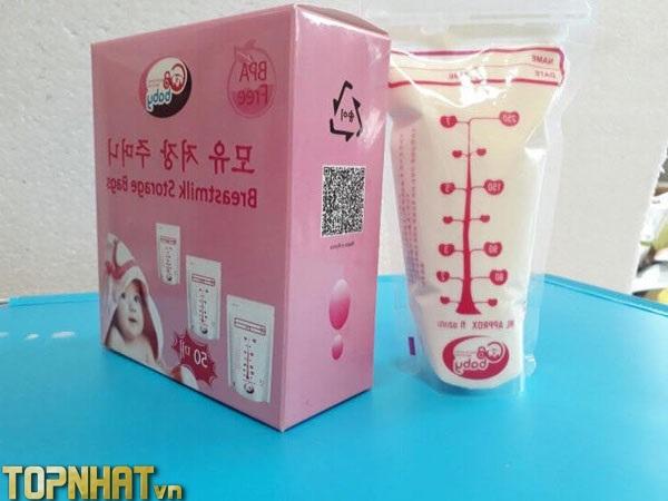 Túi chứa sữa GB baby