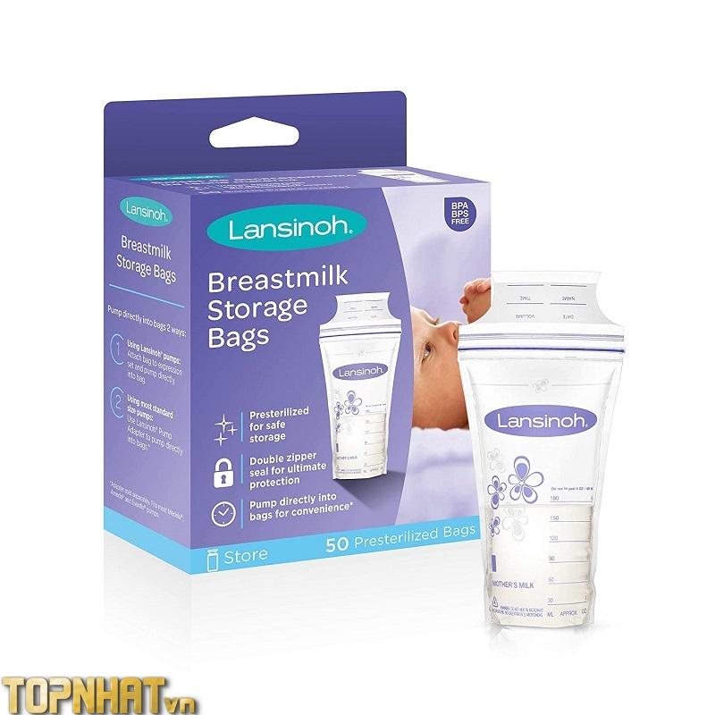 Túi trữ sữa Lansinor