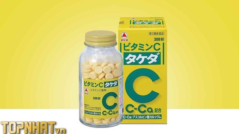 Viên uống Vitamin C 2000mg Takeda 300 viên của Nhật Bản