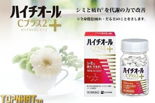 Viên uống trị mụn, vết thâm Hythiol C Plus