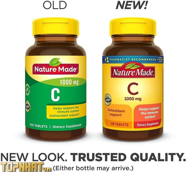 Vitamin C Nature Made của Mỹ