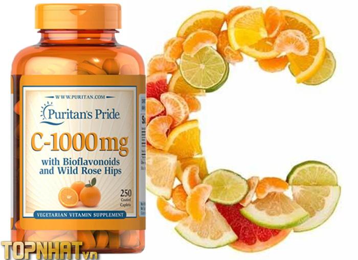 Vitamin C Puritans Pride Mỹ
